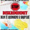 Nënëshkruaj online peticionin Stop diskriminimit të shqiptarëve në arsim