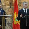 Thaçi në Podgoricë, asnjë fjalë për shqiptarët në Mal të Zi (video)