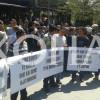 Protestuesit në Pejë i kërkojnë Kuvendit të mos pranojë kufirin siç do Mali i Zi