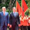 Vuçiq në Tiranë – Rama: Njohja e Kosovës, çlirim edhe për vetë Serbinë