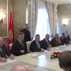 """Koalicioni """"Shqiptarët të vendosur"""" nënshkruajnë hyrjen në Qeveri me DPS-në"""