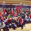 Tifozat Kuq e Zi festuan në Tuz 13-vjetorin e themelimit