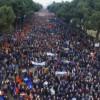 Opozita shqiptare proteston sot në Shqipëri