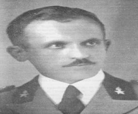 Kapiten Gjelosh Luli (1908 – 1946) Foto Marubi, Shkoder 1941.