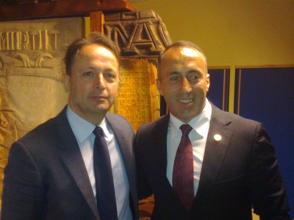 Nikoll Gegaj - Ramush Haradinaj