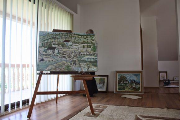 Mark N Berishaj studio