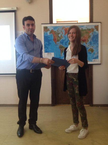 Msc Viktor Gjokaj dhe Andrijana Palusheviq