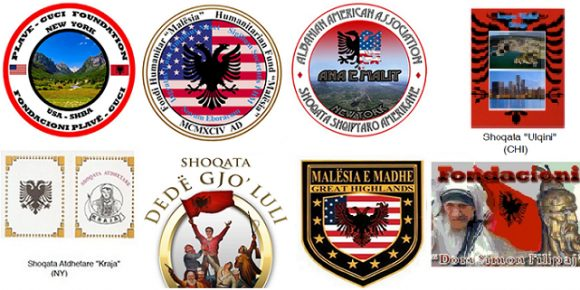 shoqatat shqiptare ne shba diaspore