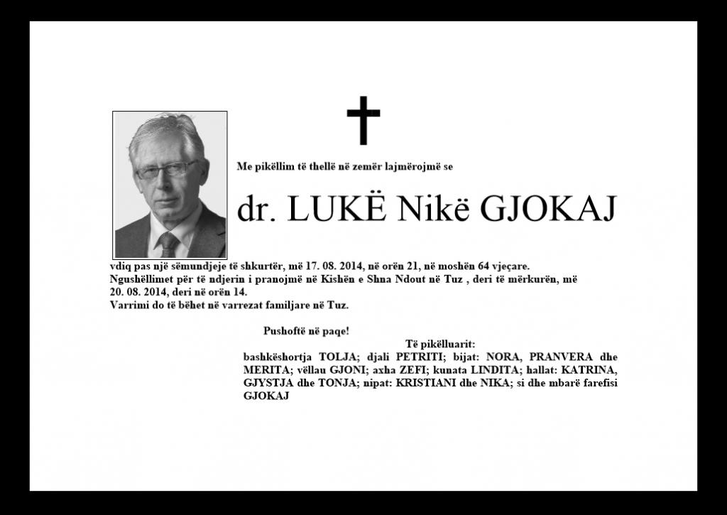 dr.Luke Gjokaj fl