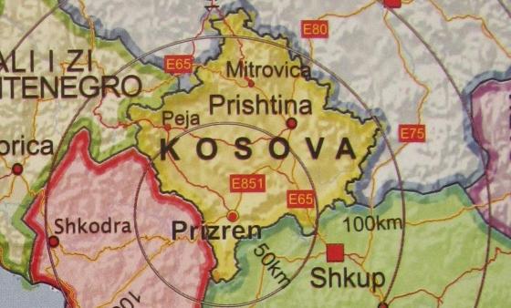 Harta-e-Kosovës