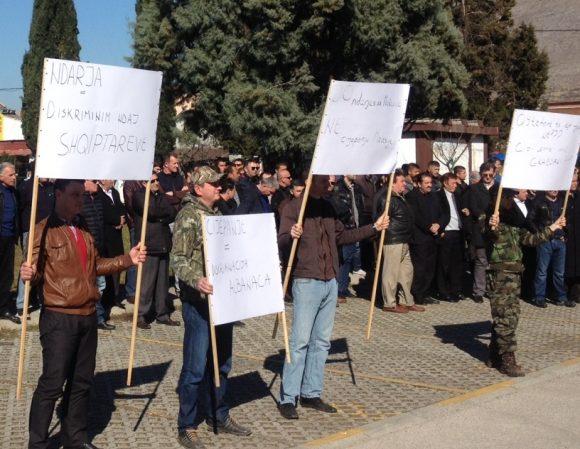 protesta e mëhershme