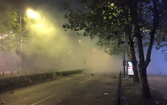 protesta podgorice tetor 2015