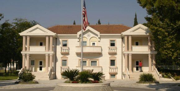 ambasada amerikane ne podgorice