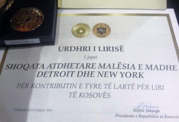 Urdhri i Lirise - Shoqata Malesia e Madhe Detroit dhe Nju Jork 3